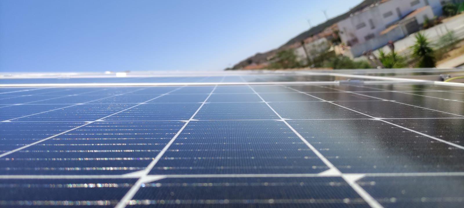placas solares en vivienda