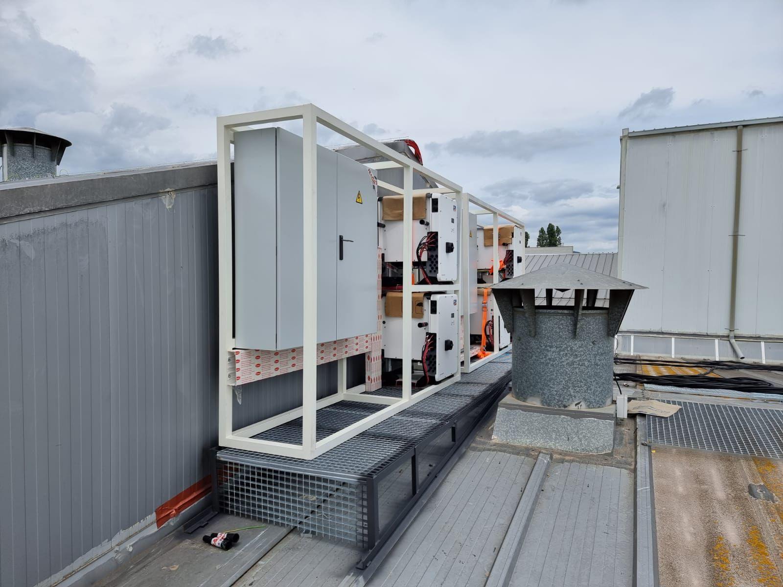instalación generador